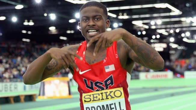 After Overcoming Injuries, Trayvon Bromell Doesn't Fear Bolt