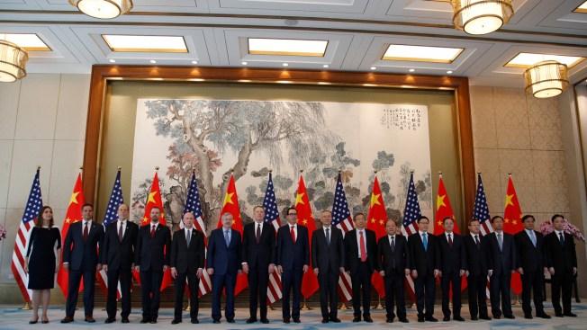 China Economy Czar Heading for Washington Tariff War Talks