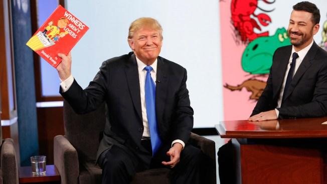 Donald Trump Tells Jimmy Kimmel He's a 'Little Divisive'