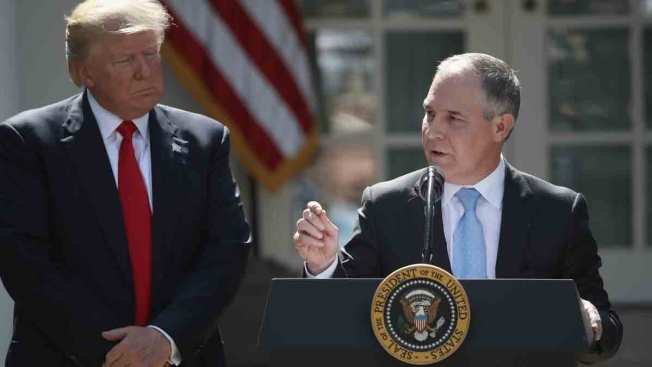 EPA Moves to Rescind Obama Plan to Slow Global Warming