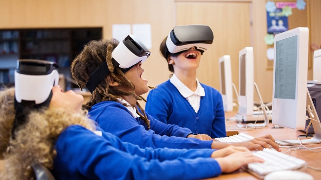 To See the Future of Classroom Learning, Some Look to Virtual Reality