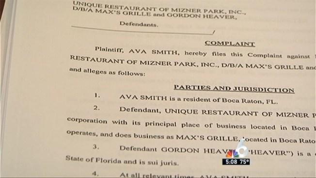 Ex Hostess Sues Maxs Grille Alleging Sexual Harassment Nbc 6