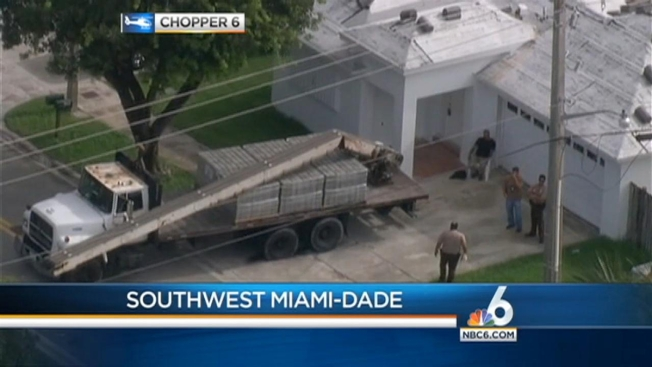 Two Workers Shocked in SW Miami-Dade Home