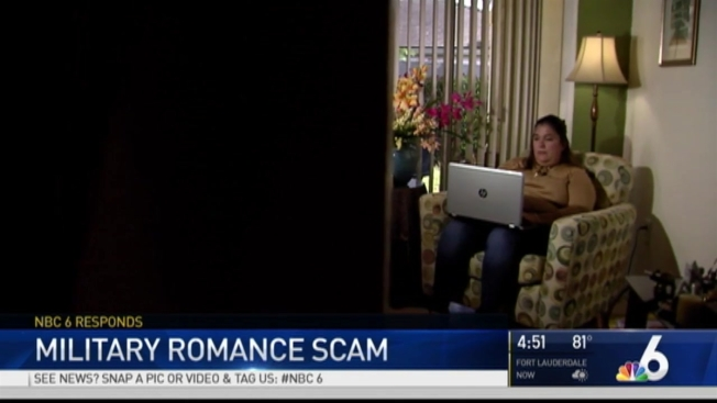 confronting a dating scammer