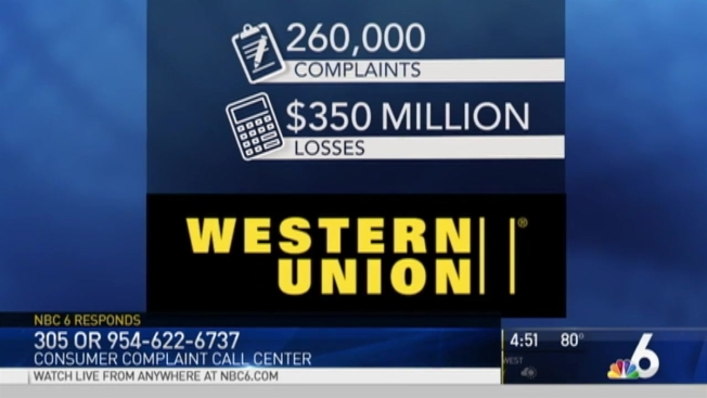 Western Union To Pay Scam Victims 586 Million Nbc 6 South Florida