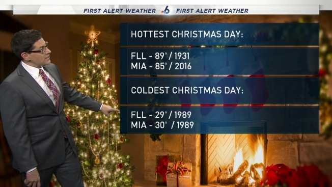 nbc 6 web weather december 25th - Whats Open On Christmas