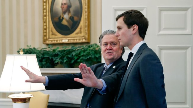 Bannon, Kushner meet to smooth tensions