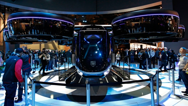 CES Is Now One of the World's Biggest Auto Shows as Ford to Uber Debut New Technology