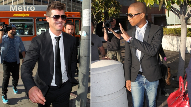 More Than 200 Musicians Support Pharrell, Robin Thicke in 'Blurred Lines' Appeal
