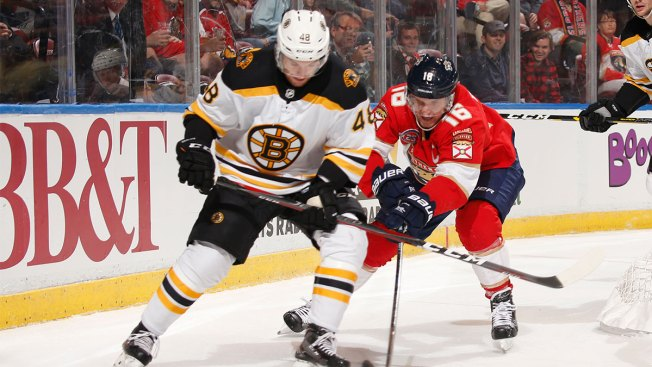 Luongo Gets 77th Shutout as Panthers Blank Bruins 5-0