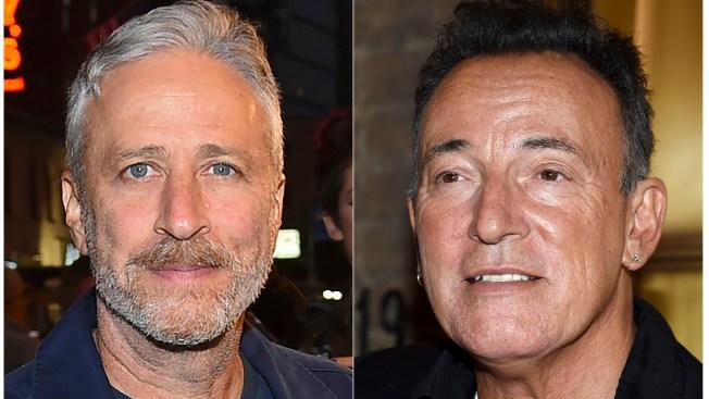 Bruce Springsteen, Jon Stewart Headline Veterans' Fundraiser