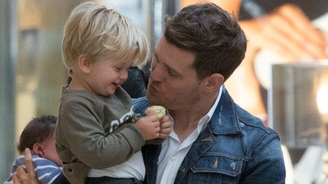 Michael Bublé and Luisana Lopilato Give Update on Son Noah's Cancer Treatment