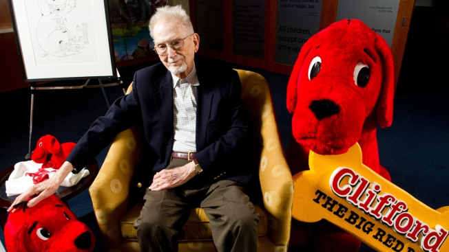 """""""Clifford the Big Red Dog"""" Author Bridwell Dead at 86"""