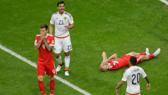 Russian Federation  face decisive match against Mexico at Confed Cup