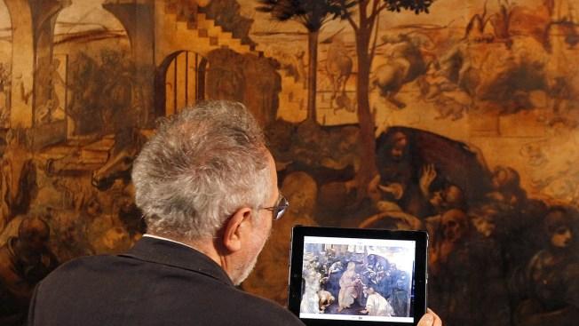 "Leonardo's ""Adoration of the Magi"" Now Cleaner, Brighter"