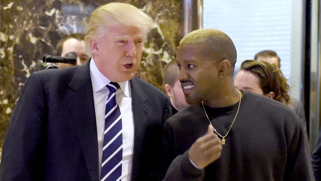 Trump Says Kanye West Has Good Taste For Liking Him
