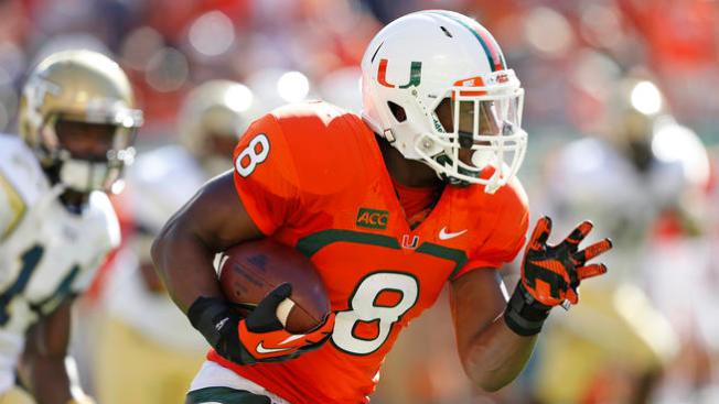 Miami's Duke Johnson Raring for New Season