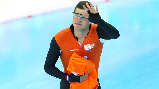 Dutch Speed Skater Sven Kramer Defends Gold in Men's 5000m in Sochi
