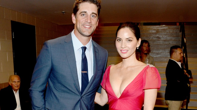 WATCH: Aaron Rodgers and Olivia Munn Lip Sync to Mariah Carey, Boyz II Men