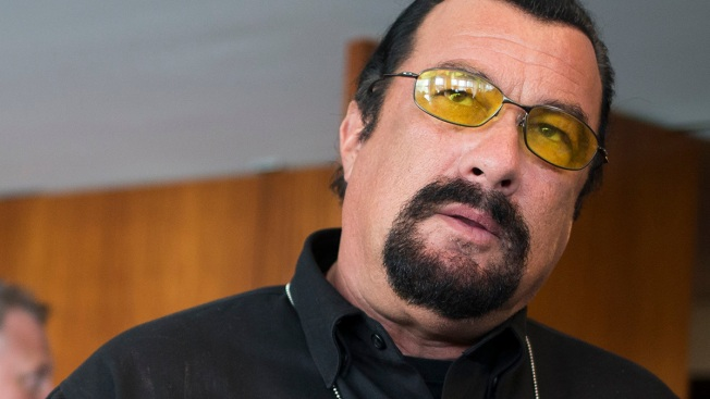 Woman Accuses Film Star Steven Seagal of Rape in 1993