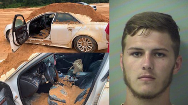 Florida Man Arrested for Dumping Mountain of Dirt on, Inside Girlfriend's Car