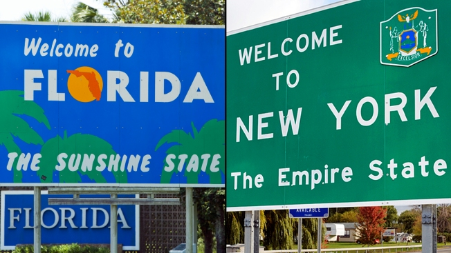 Florida Population on Track to Surpass New York