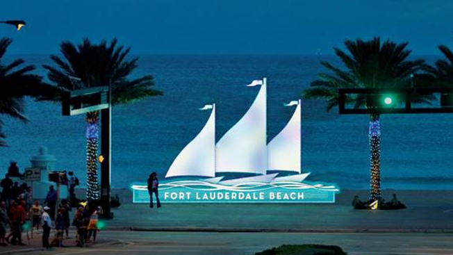 Holiday Lighting Ceremony in Fort Lauderdale Beachfront
