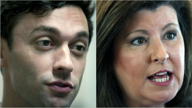 The political world waits on Georgia race, Ossoff