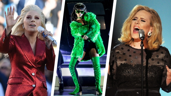 Grammys to Feature Adele, Gaga, Rihanna, Swift and More