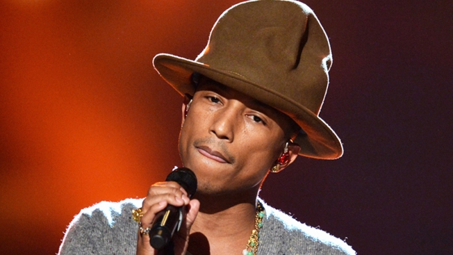 "Pharrell Cries ""Happy"" Tears During Oprah Winfrey Interview"