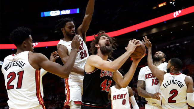 Bulls Add to Heat Woes at Home, Win 105-89