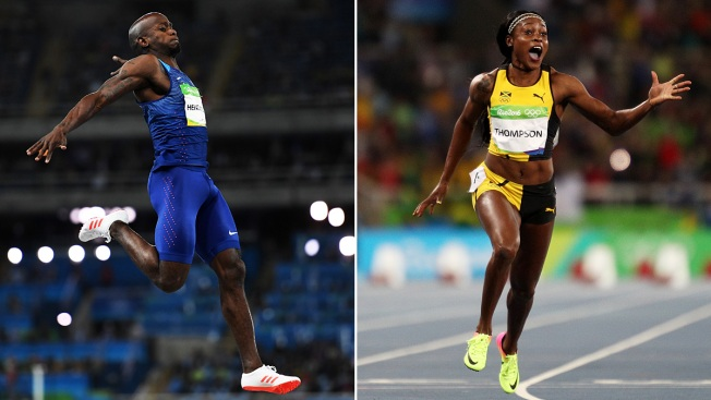Track and Field: New Champs in Woman's 100m, Men's Long Jump, Heptathlon, but Farah Defends Gold