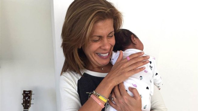 'Today' Anchor Hoda Kotb Adopts 'Valentine's Baby' Haley Joy