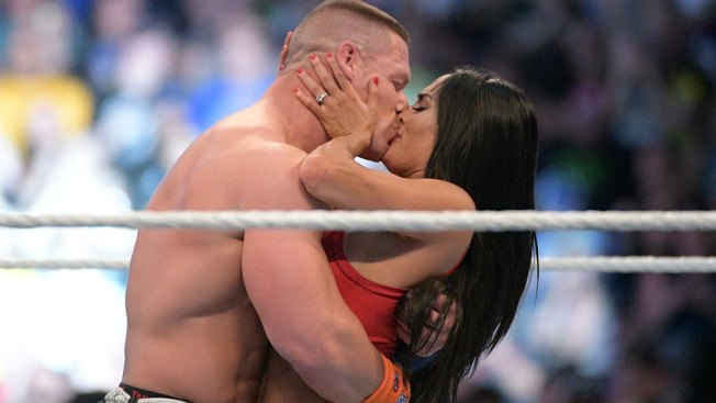 Watch John Cena and Nikki Bella get engaged at Wrestlemania