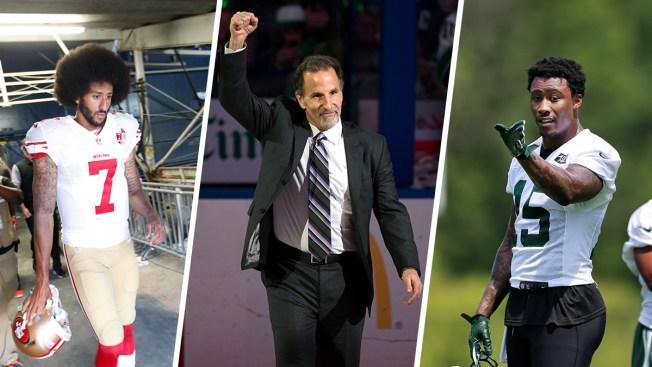Hockey Coach Tortorella, Jets WR Marshall Weigh in on National Anthem Debate