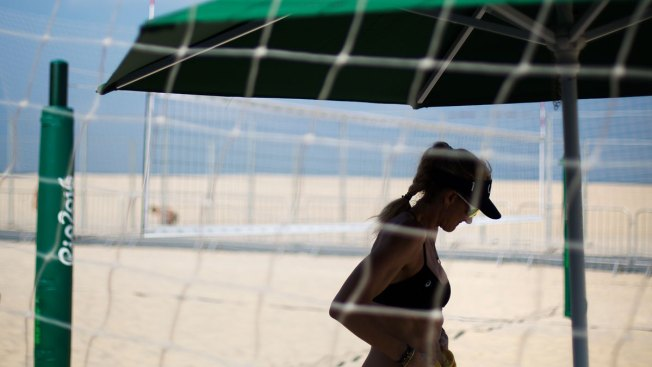 At Copacabana, Olympic Beach Volleyball is Always in Fashion