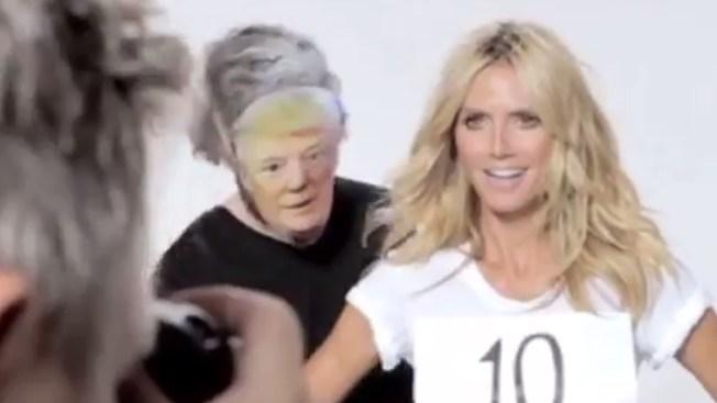 Heidi Klum Fires Back After Donald Trump Says 'She's No Longer a 10'