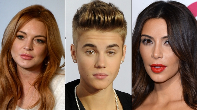 """Forbes Names """"Most Overexposed"""" Celebs: Justin Bieber, Miley Cyrus, Lindsay Lohan, and More"""