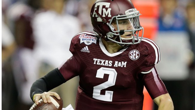 Texas A&M Quarterback Johnny Manziel Joins LRMR