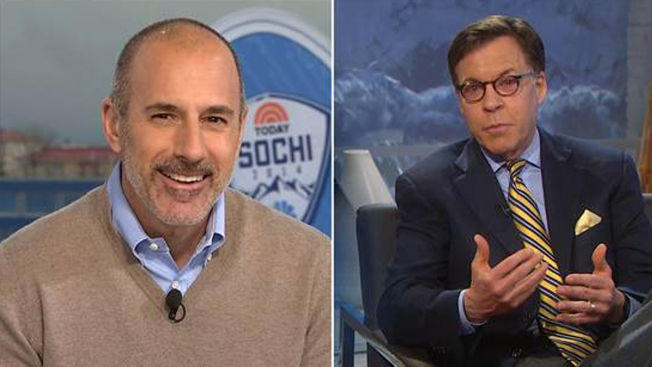 "Bob Costas Gets ""Red Eye"" Treatment From Matt Lauer"