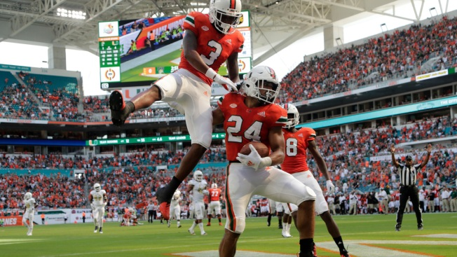 AP Top 25: UCF, Miami Move Up Following Wins