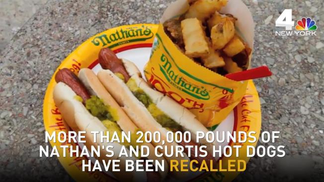 What Nathan S Hot Dogs Are Being Recalled
