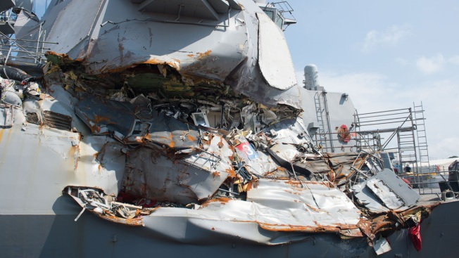 Navy to Drop Charges Against Former USS Fitzgerald Officers in Deadly Destroyer Collision