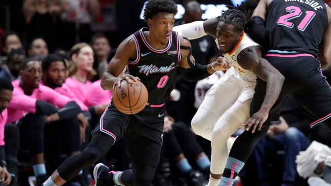 Hawks Hold on, Top Heat 115-113 to Snap 7-Game Road Slide