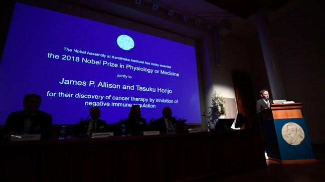 Cancer Researchers James P. Allison, Tasuku Honjo Win Nobel Prize in Medicine