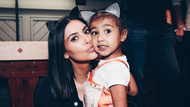 Kim Kardashian defends dressing North West in a corset