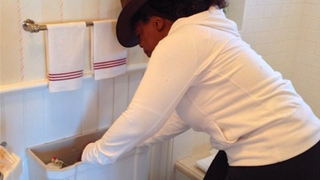 Oprah Winfrey Can Fix Her Own Toilet, Thank You Very Much
