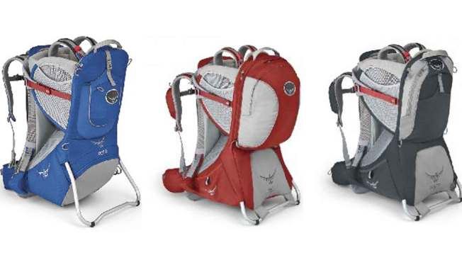 Osprey Recalls Child Backpack Carriers Due to Fall Hazard