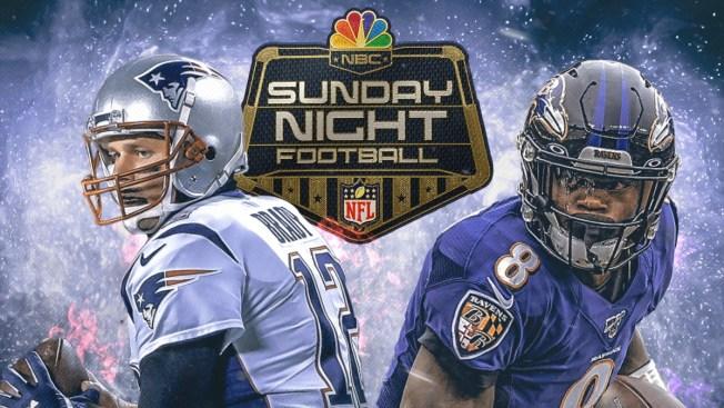 How to Watch Patriots-Ravens on Sunday Night Football