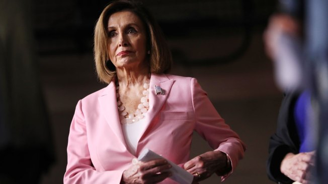 House Speaker Nancy Pelosi in South Florida at Event Promoting Democracy in Venezuela